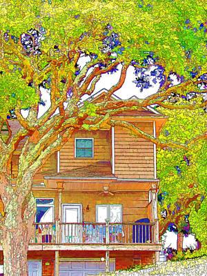 Swansboro Painting -  Suburban Home 2 by Lanjee Chee