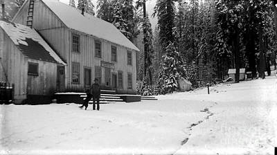 Photograph -  Summerdale Hotel A General Store, A Saloon, A Post Office Circa 1900 by California Views Mr Pat Hathaway Archives