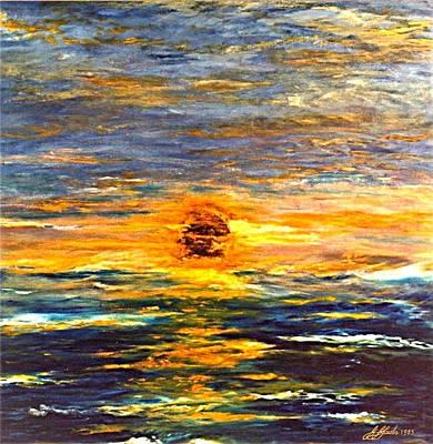 Sunrise At Sea Original