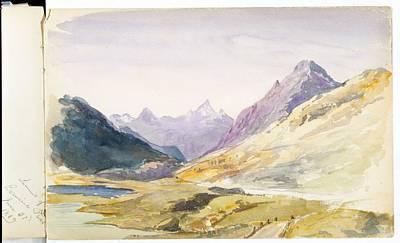 Switzerland Painting -  Switzerland  by MotionAge Designs