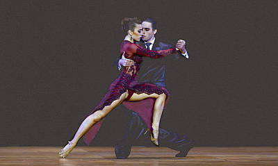 Tango World Championship Original by Don Kuing