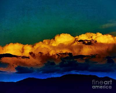 Photograph -  Taos Clouds II by Charles Muhle