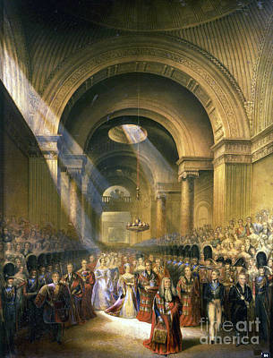 The Arrival Of Her Most Gracious Majesty Queen Victoria Art Print
