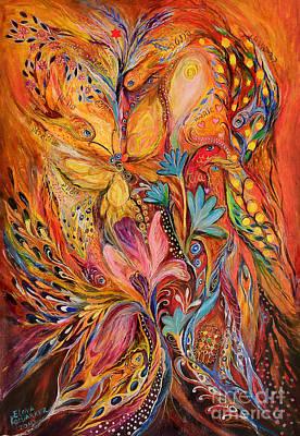 The Flowering Art Print by Elena Kotliarker