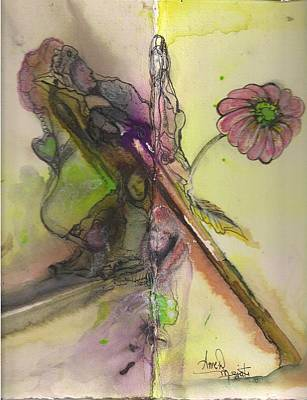 Pastel -  The Grandmothers by Anne-D Mejaki - Art About You productions