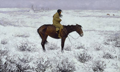 Horse Painting -  The Herd Boy by Celestial Images