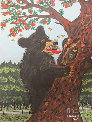 Fruit Tree Art Painting -  The Honey Hole by Jeffrey Koss