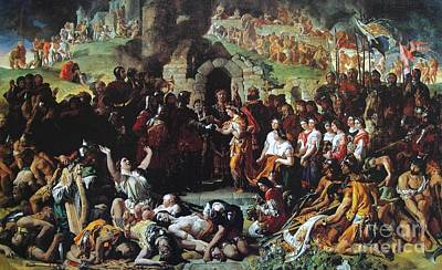People Painting -  The Marriage Of Strongbow And Aoife by Daniel Maclise
