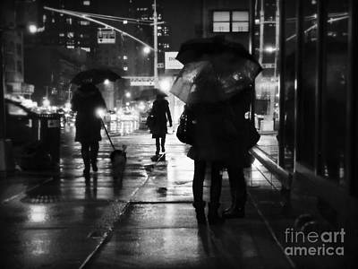 Photograph -  The Softness Of Rain by Miriam Danar