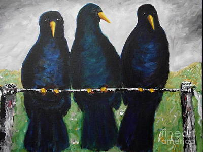Three Little Birds Original by Beverly Livingstone
