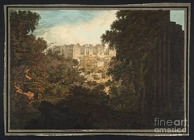 Kenilworth Castle Wall Art - Painting -  Title Kenilworth Castle by MotionAge Designs