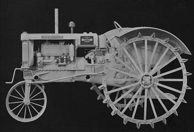 Machinery Photograph -  Tractor by American School
