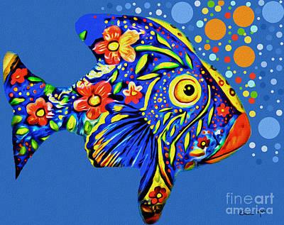 Tropical Fish Original by Eleni Mac Synodinos