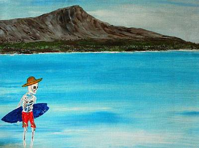 Vamos A La Playa Art Print by Everette McMahan jr