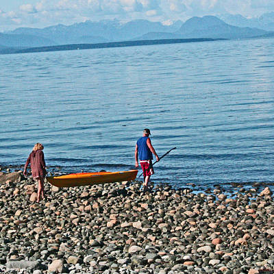 Photograph -  Vancouver Island - Bc Kayaking by Joseph Coulombe