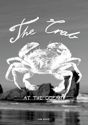 Velvet Crab, Art Print by Juan Bosco