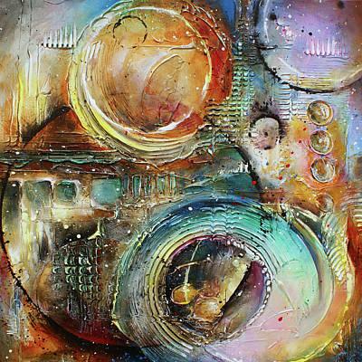 ' Visions Of Seven ' Original by Michael Lang