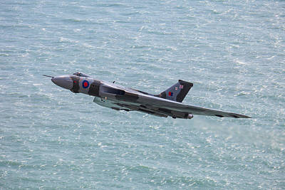 Photograph -  Vulcan At Eastbourne Air Show by Ken Brannen