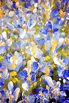 Painting -  Welcome To My Garden by Oksana Semenchenko