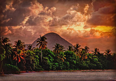 Photograph -  West Indian Skyline by Hanny Heim