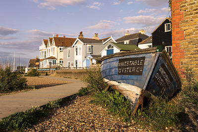Whitstable Oyster Co Art Print by Ian Hufton