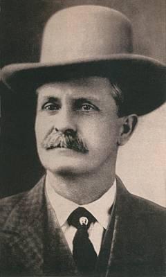 William Bill Tilghman 1854-1924 Art Print