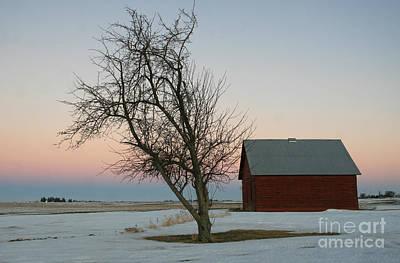 Winter In Rural America Art Print