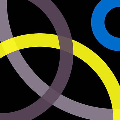 Drawing - 0 - Phi Word Circle by REVAD David Riley