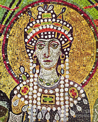 Empress Painting - Theodora (c508-548) by Granger