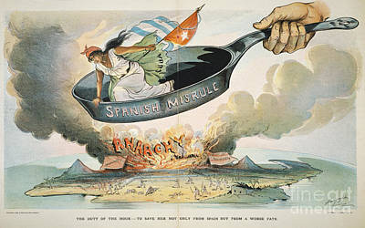 Spanish-american War, 1898 Art Print by Granger