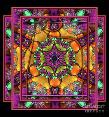 001 - Mandala Art Print