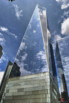 Photograph - 0011 One World Observatory by Michael Frank Jr