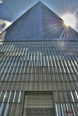 Photograph - 003 One World Observatory by Michael Frank Jr