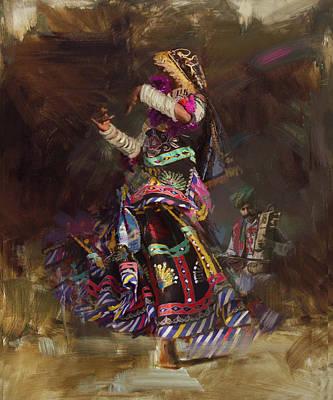 Painting - 003 Sindh by Mahnoor Shah