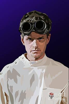 Neil Patrick Harris Digital Art - 005. Horribly Familiar by Tam Hazlewood