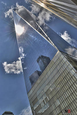 Photograph - 005 One World Observatory by Michael Frank Jr