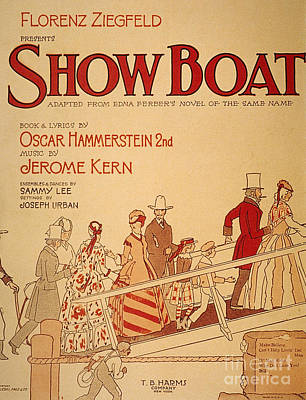 Show Boat Poster, 1927 Art Print by Granger