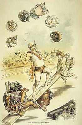 Politics Painting - Otto Von Bismarck by Granger