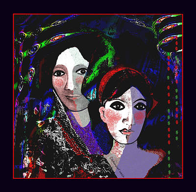 Digital Art - 007 - Stories Of The Medici 2017 by Irmgard Schoendorf Welch