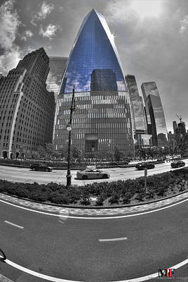 Photograph - 007 One World Observatory by Michael Frank Jr