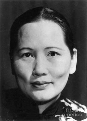 Photograph - Madame Sun Yat-sen  by Granger