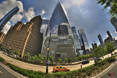 Photograph - 008 One World Observatory by Michael Frank Jr