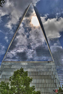 Photograph - 009 One World Observatory by Michael Frank Jr
