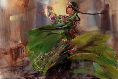 Painting - 009 Pakhtun B by Mahnoor Shah