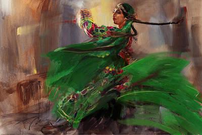 Painting - 009 Pakhtun  by Mahnoor Shah