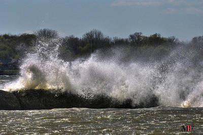 Photograph - 01 High Winds And Waves by Michael Frank Jr
