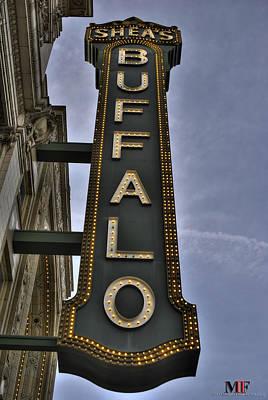 City Hall Photograph - 01 Sheas Buffalo by Michael Frank Jr