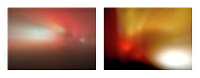 Photograph - 01 Shineonucrazydiamond Diptych 1 by David Hargreaves