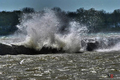 Photograph - 010 High Winds And Waves by Michael Frank Jr