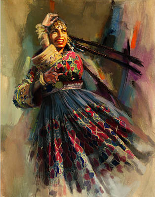 Painting - 010 Pakhtun by Mahnoor Shah